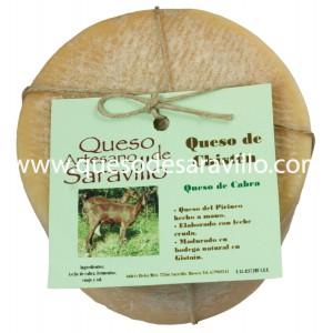 Queso de Cabra Leche Cruda Chisten-queso-de-saravillo